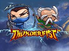 Играйте на деньги в виртуальный слот Thunderfist
